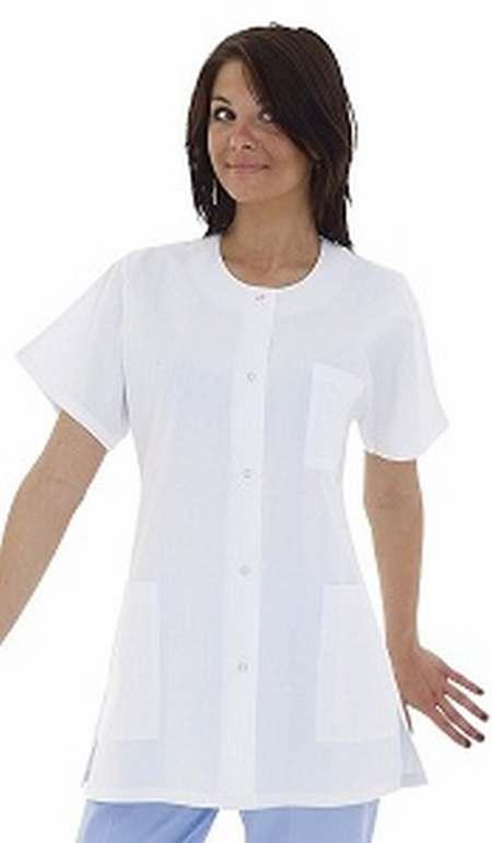 blouse homme col officier blouse blanche pas cher college. Black Bedroom Furniture Sets. Home Design Ideas